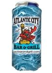 Custom Full Color Slim 8oz Can Coolie for Small Dia/Tall Styles - USA Made - Factory Direct