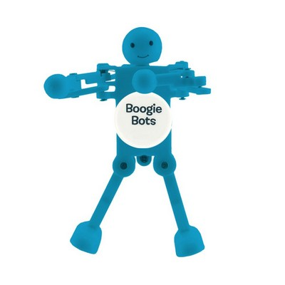 Wind Up Boogie Bot - Cool Blue