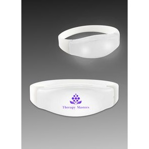 Sound & Motion Activated LED Flashing Lighted Bracelet