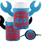 Custom Crazy Frio Beverage Holder - Crawfish w/ 2 Appendages