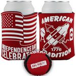 Custom Crazy Frio Beverage Holder - Flag