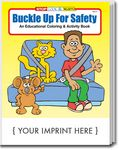 Custom Buckle Up For Safety Coloring Book