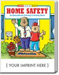 Custom Home Safety Coloring Book