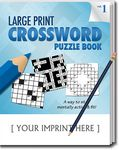 Custom LARGE PRINT Crossword Puzzle Pack Set - Volume 1