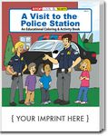 Custom A Visit To The Police Station Coloring Book