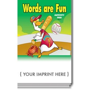 Words Are Fun Activity Pad