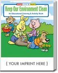 Custom Keep Our Environment Clean Coloring Book