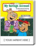 Custom My Savings Account Coloring Book