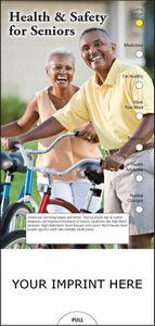 Custom Printed Senior Health and Safety Slide Chart
