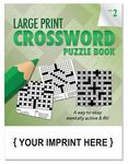 Custom LARGE PRINT Crossword Puzzle Book - Volume 2
