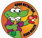 Custom Good Nutrition Good Health Sticker Roll