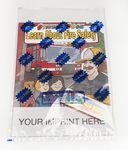 Custom Learn About Fire Safety Sticker Book Fun Pack