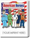 Custom American Heroes Coloring and Activity Book