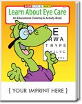 Custom Learn About Eye Care Coloring Book