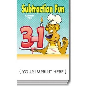 Subtraction Fun Activity Pad