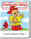 Custom Practice Fire Safety Coloring Book