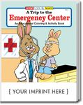 Custom A Trip to the Emergency Center Coloring Book