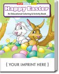 Custom Happy Easter Coloring & Activity Book