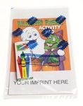 Custom Halloween Friends Activity Pad Fun Pack