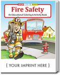 Custom Fire Safety Coloring & Activity Book