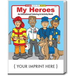 My Heroes Coloring Books