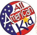 Custom All American Kid Sticker Roll
