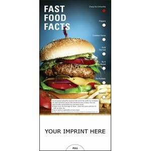 Fast Food Facts Slide Chart