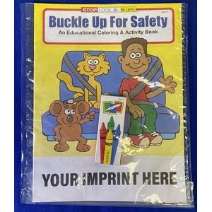 Buckle Up for Safety Coloring Book Fun Pack