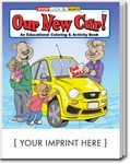 Custom Our New Car Coloring and Activity Book