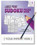 Custom LARGE PRINT Sudoku Puzzle Pack Set - Volume 1