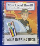 Custom Your Local Sheriff Coloring & Activity Book Fun Pack
