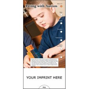 Living with Autism Slide Chart