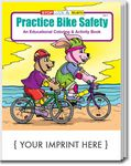 Custom Practice Bike Safety Coloring Book