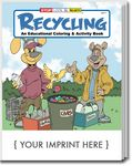 Custom Recycling Coloring and Activity Book