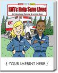 Custom EMTs Help Save Lives Coloring Books