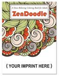 Custom ZenDoodle Coloring Book for Adults