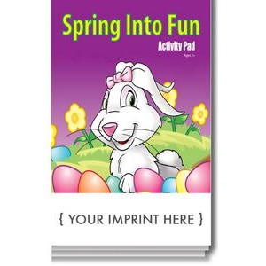 Spring Into Fun Activity Pad