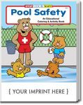 Custom Pool Safety Coloring Book