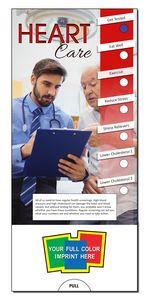 Custom Printed Heart Care Slide Chart