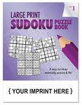 Custom LARGE PRINT Sudoku Puzzle Book - Volume 1