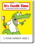 Custom It's Tooth Time Coloring Book