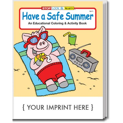 Have a Safe Summer Coloring Book