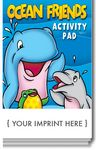 Custom Ocean Friends Activity Pad