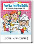 Custom Practice Healthy Habits Coloring Book