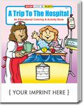 Custom A Trip To The Hospital Coloring Book