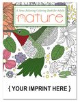 Custom STRESS RELIEVER/COLORING BOOK - Nature Coloring Book for Adults
