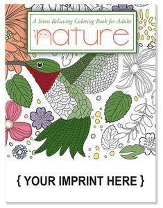 Custom Imprinted Adult Coloring Book