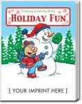 Custom Holiday Fun Coloring Book