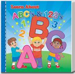 Custom Storybook - Learn About ABCs & 123s