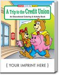 Custom A Trip to the Credit Union Coloring & Activity Book